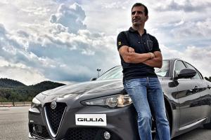 Marc Gené y el Alfa Romeo Gilulia